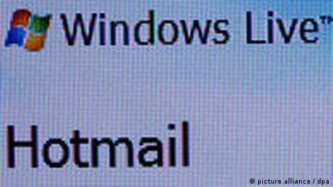 Internet Microsoft Hotmail E-Mail Zehntausend Hotmail-Konten gehackt (picture alliance / dpa)