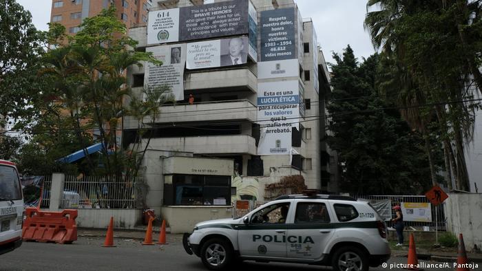 Edifício Mônaco estava abandonado