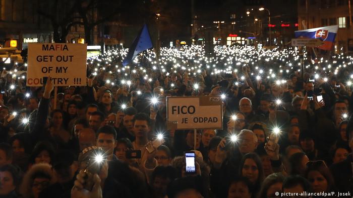 Антикорупційні протести відбувалися у Словаччині й за рік після вбивства Яна Куціяка