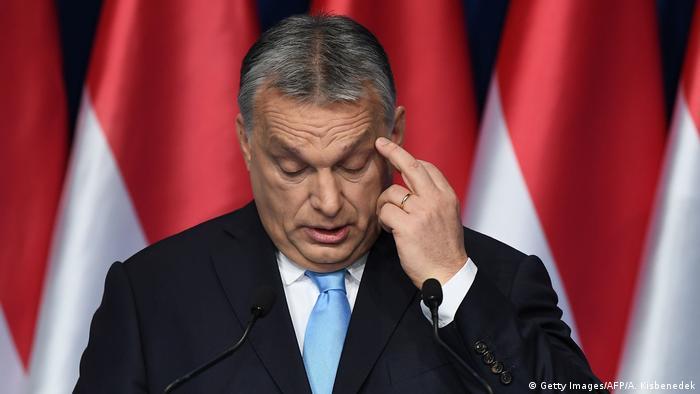 Премьер-министр Венгрии и председатель ФИДЕС Виктор Орбан