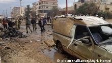Syrien, Aleppo: Terroranschlag in Afrin