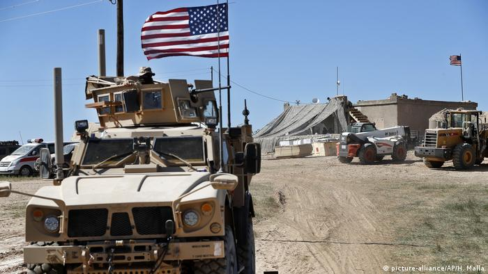 Syrien: US Soldaten (picture-alliance/AP/H. Malla)