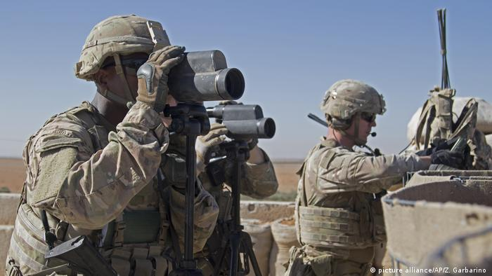 Syrien US-Soldaten im Einsatz