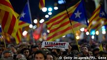 Spanien, Barcelona: Generalstreik in Katalonien (Getty Images/AFP/L. Gene)