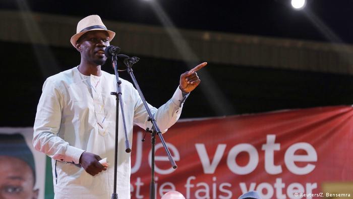 Senegal Wahl | Wahlkampf von Ousmane Sonko in Pikine