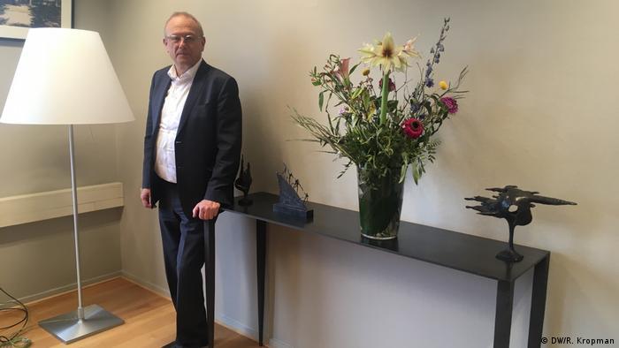 The mayor of Tilburg in his office   Jan Boelhouwer, Bürgermeister