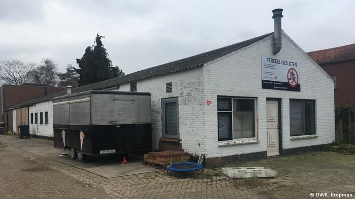 A car garage in Tilburg