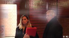 Serbien Gerichtsprozess zum Sexualmissbrauch in der Stadt Brus Marija Lukic mit ihrem Anwalt