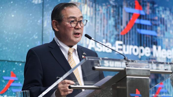 ASEM-Gipfel in Brüssel 2018   Teodoro Locsin, Außenminister Philippinen