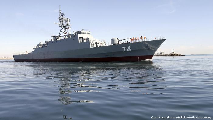 Боевой корабль иранских ВМС