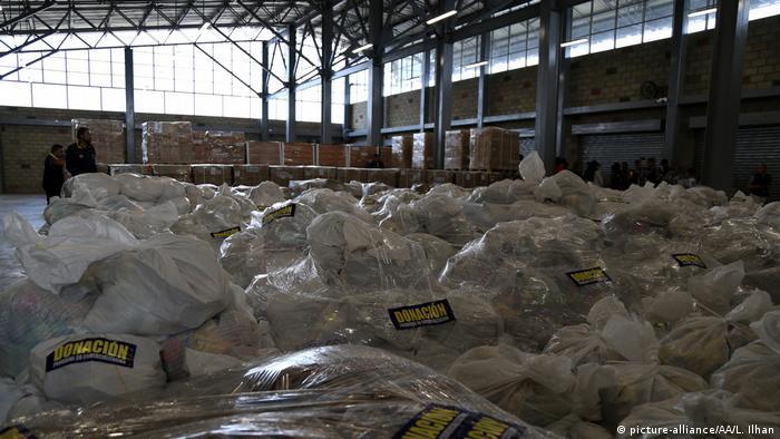 Kolumbien Grenze Venezuela USAID Hilfsgüter