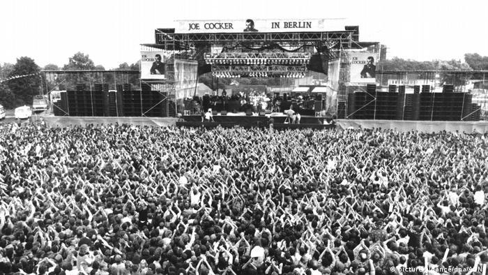 Joe Cocker Konzert 1988 (Foto: picture-alliance)