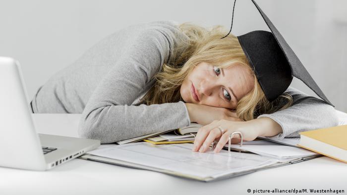 Symbolbild Studieren - Lernen (picture-alliance/dpa/M. Wuestenhagen)