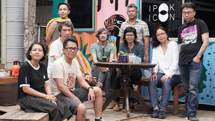Die Künstlergruppe Ruangrupa soll die documenta 15 künstlerisch leiten(Gudskul/Jin Panji)