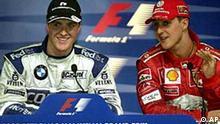 Ralf und Michael Schumacher in Malaysia