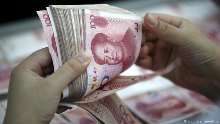 Chinesische Währung (picture alliance/dpa)