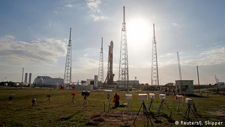 USA Israelische Raumsonde Beresheet auf dem Weg zum Mond (Reuters/J. Skipper)