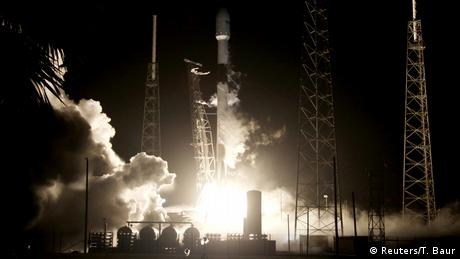 USA Israelische Raumsonde Beresheet auf dem Weg zum Mond (Reuters/T. Baur)