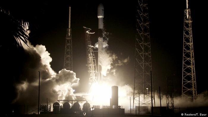 USA Israelische Raumsonde Beresheet auf dem Weg zum Mond
