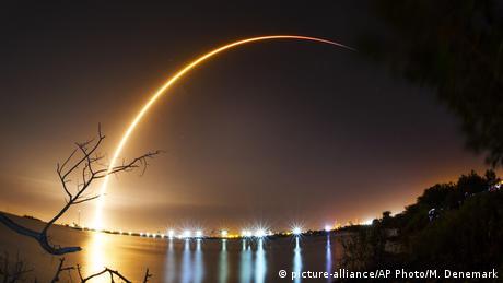 USA Israelische Raumsonde Beresheet auf dem Weg zum Mond (picture-alliance/AP Photo/M. Denemark)
