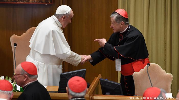 Vatikan Kardinal Cupich schlägt Verfahren zu Absetzung von Bischöfen vor | Blase Joseph Cupich