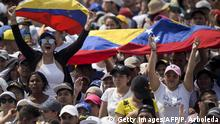 Kolumbien Konzert an der Grenze zu Venezuela (Getty Images/AFP/P. Arboleda)
