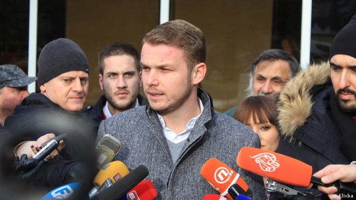Draško Stanivuković se obraća novinarima