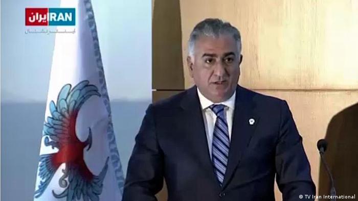 Iran Reza Pahlavi Ghoghnous