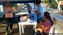 Venezuela Kolumbien Humanitäre Hilfe Impfbrigade
