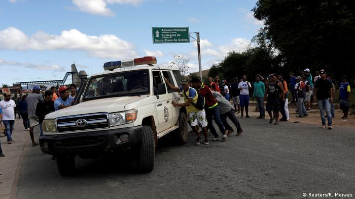 Militares venezuelanos matam civis perto da fronteira