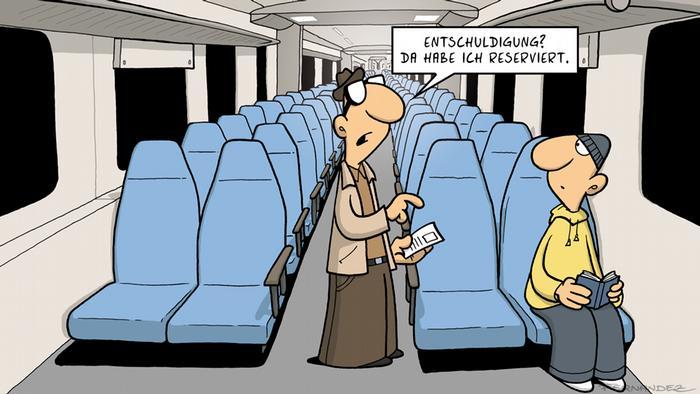 DW Euromaxx Comic von Fernandez 'Verstehen Sie Deutsch?