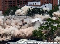Villa des Drogenbosses Escobar gesprengt