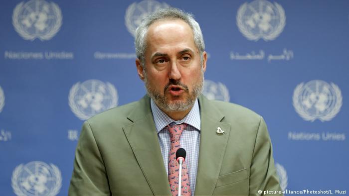 BM Genel Sekreteri Antonio Guterres'in sözcüsü Stephane Dujarric