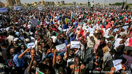 Sudan | Protest (Getty Images/AFP/A. Shalzy)