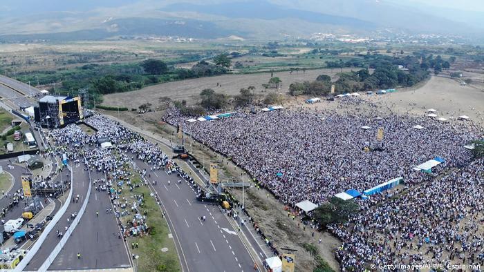 Kolumbien | Konzert an der Grenze zu Venezuela