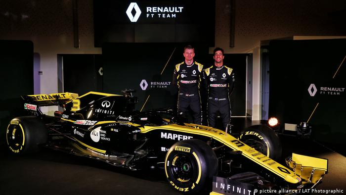 Formel 1 2019 - Renault Launch (picture alliance / LAT Photographic)