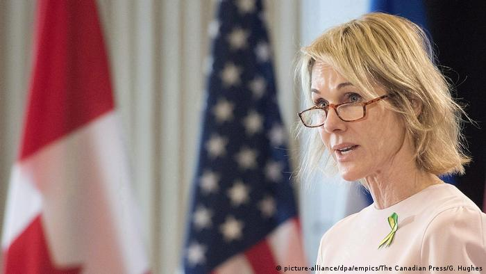 US-Präsident Donald Trump nominiert Kelly Knight Craft als UN-Botschafterin (picture-alliance/dpa/empics/The Canadian Press/G. Hughes)
