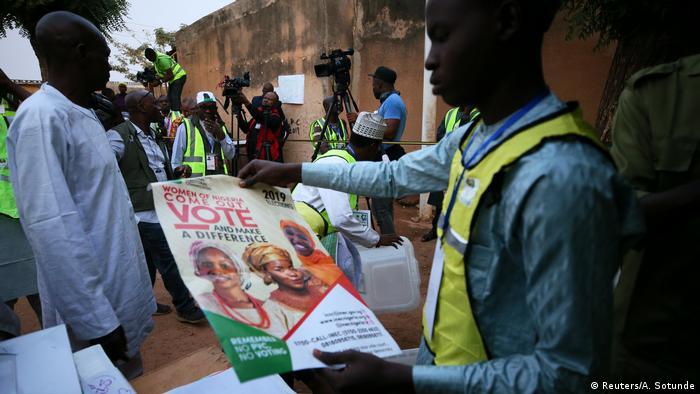 Nigeria Präsidentschaftswahlen