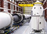 Testflug für bemannte SpaceX-Raumkapsel