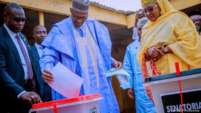 Nigeria Präsidentschaftswahlen Buhari (Bayo Omoboriwo)