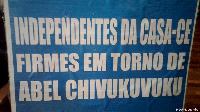 Angola Luanda Opposition CASA-CE Partei