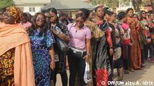 Wähler in Nigerias Hauptstadt Abuja