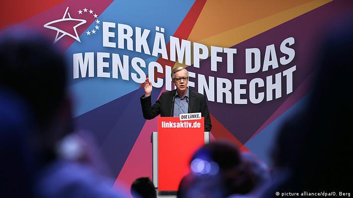 Parteitag Die Linke in Bonn (picture alliance/dpa/O. Berg)