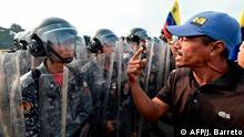 Venezuela Grenzstadt Ureña Proteste