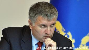 Ukraine Innenminister Arsen Awakow