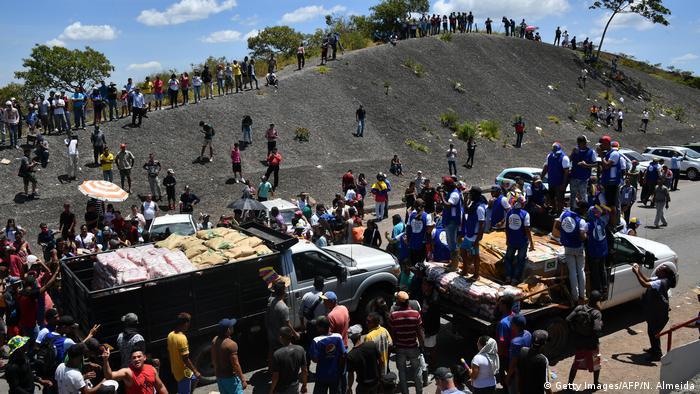 Comboios de ajuda humanitária