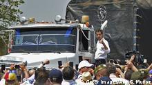 Kolumbien Hilfslieferungen für Venezuela