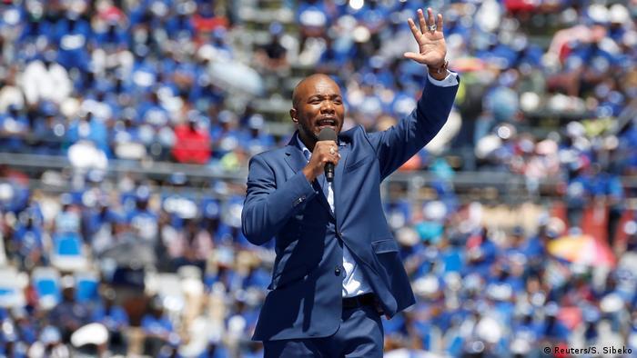 DA party leader Mmusi Maimane (Reuters/S. Sibeko)