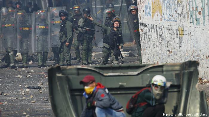 Tensão nas fronteiras da Venezuela