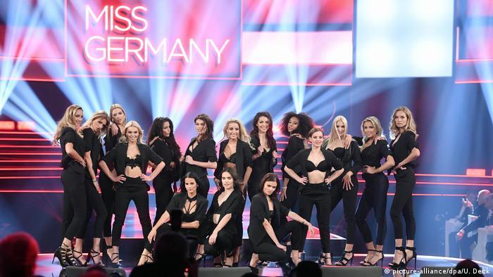 Szesnaście uczestniczek finału konkursu Miss Niemiec 2019